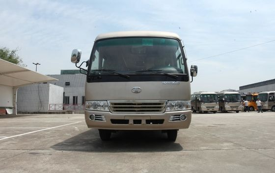 الصين Countryside Rosa Minibus Drum / Dis Brake Service Bus With JAC LC5T35 Gearbox المزود